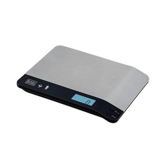 Balança De Cozinha 5Kg Blackdecker Bc500 Inox