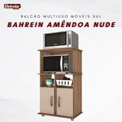 Balcão Multiuso Bahrein Moveis Sul Amêndoa Nude