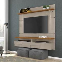 Bancada Suspensa Lana 1,60M Madetec Tv60 Fendi/Naturale