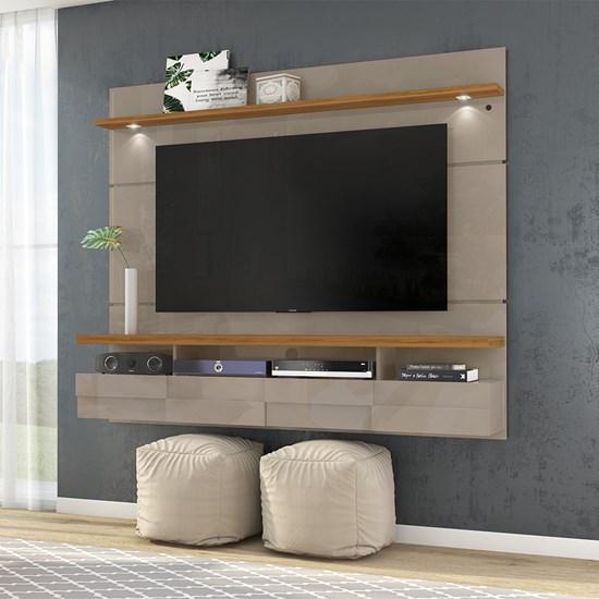 Bancada Suspensa Lana 1,80M Madetec Tv60 Fendi/Naturale