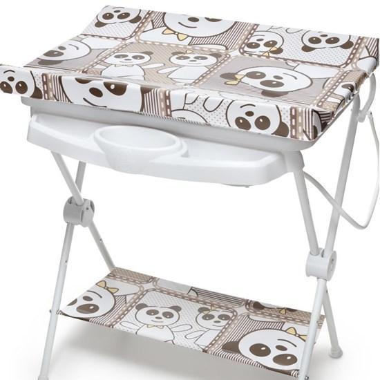 Banheira Banho Bebê Luxo Galzerano Panda