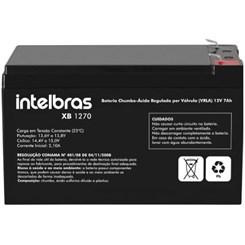 Bateria Vrla 12V 7,0 Ah-Xb1270 Intelbras Preto