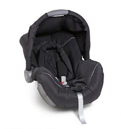 Bebê Conforto Piccolina Preto/Cinza
