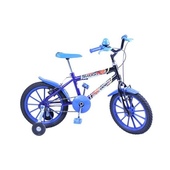 d72957686 Bicicleta Aro 16 Kids Masculina Azul - Eletrolar