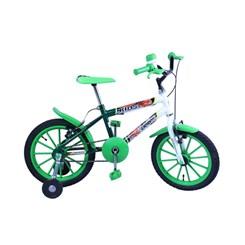 Bicicleta Aro 16 Kids Masculina Verde