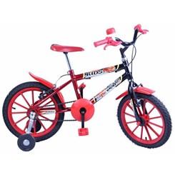 Bicicleta Aro 16 Kids Masculina Vermelho