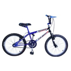 Bicicleta Aro 20 Cross Mutante Tenk Azul