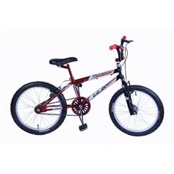 Bicicleta Aro 20 Cross Mutante Tenk Vermelho