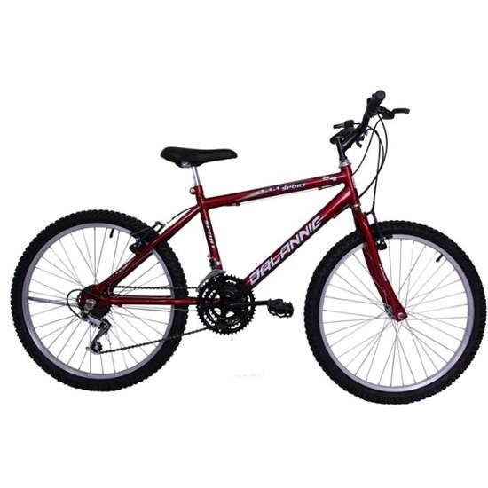 Bicicleta Aro 24 18M Masculina Sport Vermelho