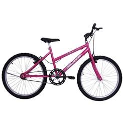 Bicicleta Aro 24 S/Marcha Fem Life Rosa
