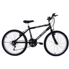Bicicleta Aro 24 Sport 18V Masculina Preto