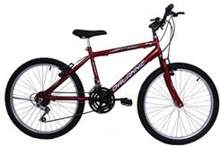 Bicicleta Aro 24 Sport 18V Masculina Vermelho
