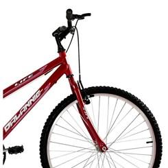 Bicicleta Aro 26 18M Fem V Brake Life Vermelho