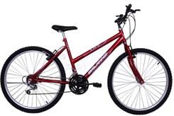 Bicicleta Aro 26 18M Fem V/Brake Life Vermelho