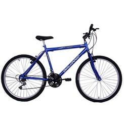 Bicicleta Aro 26 18M Masc V/Brake Sport Azul