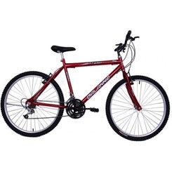 Bicicleta Aro 26 18M Masc V/Brake Sport Vermelho
