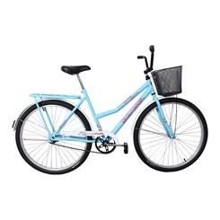 Bicicleta Aro 26 Barra Forte Fem New Azul Bebe