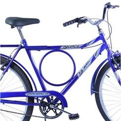 Bicicleta Aro 26 Barra Forte Masc.Poten Azul