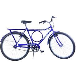 Bicicleta Aro 26 Barra Forte Masc. Poten Azul