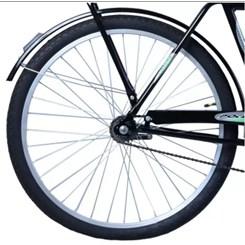 Bicicleta Aro 26 Barra Forte Masc.Poten Preto