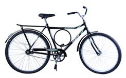 Bicicleta Aro 26 Barra Forte Masc. Poten Preto