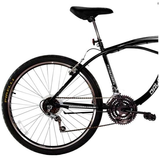 Bicicleta Aro 26 Beach Masculina 18V Preto