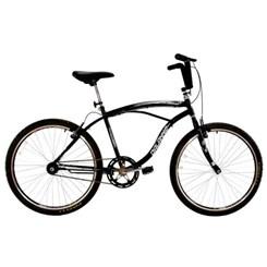 Bicicleta Aro 26 Beach Masculina Preto