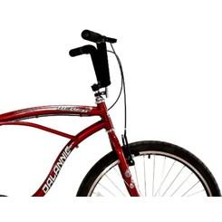 Bicicleta Aro 26 Beach Masculina Vermelho