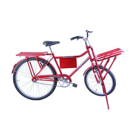Bicicleta Aro 26 Carga Masculina Vermelho