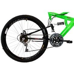 Bicicleta Aro 26 Full Susp Max 18Marchas Verde