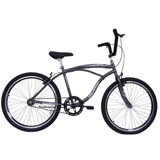 Bicicleta Aro 26 Long Beach Masculina18v Grafite