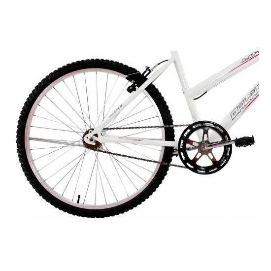 Bicicleta Aro 26 S/Marcha Feminina Life Branco