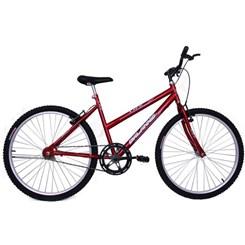 Bicicleta Aro 26 S/Marcha Feminina Life Vermelho