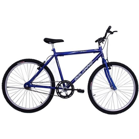 Bicicleta Aro 26 S/Marcha Masc. Sport Azul