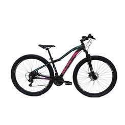 Bicicleta Aro 29 Feminina Fast Al Hi Q15 Preta