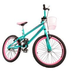 Bicicleta Colli A20 Fem July Verde Acqua