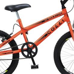 Bicicleta Colli A20 Max Boy Laranja Neon