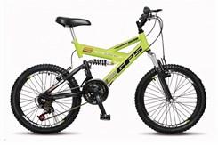 Bicicleta Colli A20 Suspensão 21 Marchas Amarelo