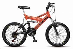 Bicicleta Colli A20 Suspensão 21 Marchas Laranja
