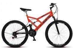 Bicicleta Colli A26 Suspensão 21 Marchas Laranja
