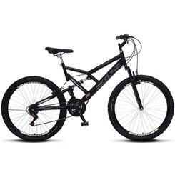 Bicicleta Colli A26 Suspensão 21 Marchas Preto