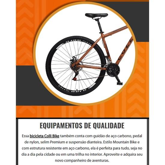 Bicicleta Colli A29 Q17 12M Fh Athena Terracota