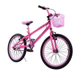 Bicicleta Colli Aro 20 Fem Jully Rosa