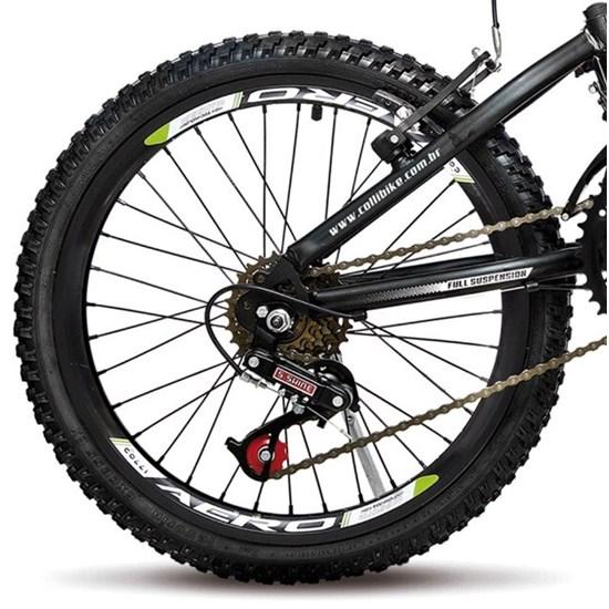 Bicicleta Colli Aro 20 Gps Suspensão Laranja Neon