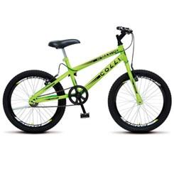Bicicleta Colli Aro 20 Maxboy Amarelo Neon