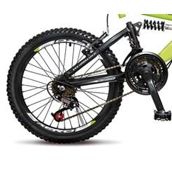 Bicicleta Colli Aro 20 Suspensao 21M Gps Amarelo