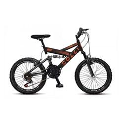 Bicicleta Colli Aro 20 Suspensao 21M Gps Preto Fosco