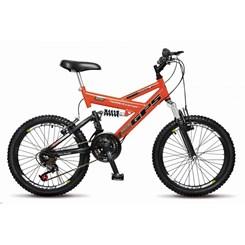 Bicicleta Colli Aro 20 Suspensão 21M Laranja