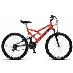 Bicicleta Colli Aro 26 Suspensão 21M Gps Laranja