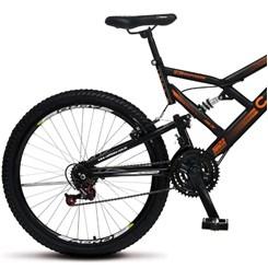 Bicicleta Colli Aro 26 Suspensão 21M Gps Preto
